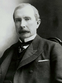 John D. Rockefeller, worth a staggering $318.3 billion